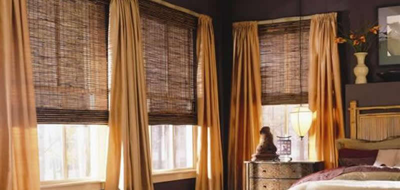 Woven Wood Shades in Orlando Gator Blinds Woven Wood Shades
